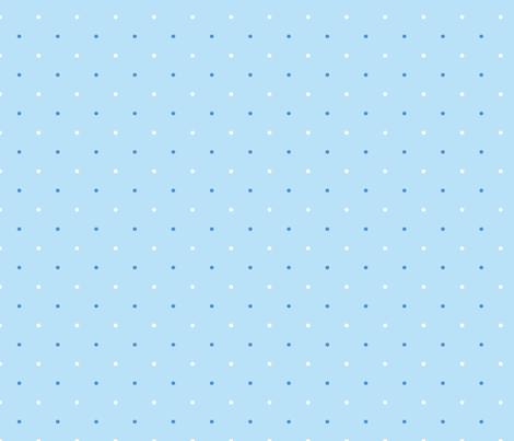 petit_pois_fond_ciel fabric by nadja_petremand on Spoonflower - custom fabric