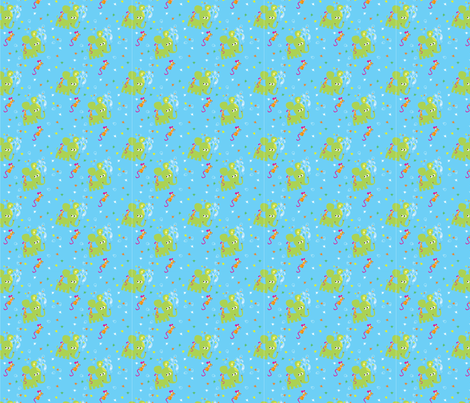 Elephant_2 fabric by mgl_studio on Spoonflower - custom fabric