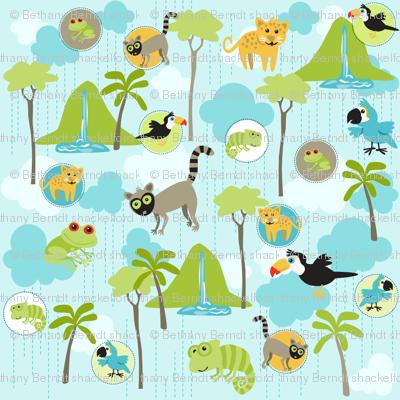 Rain Forest Babies