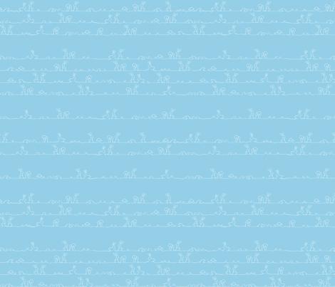 bunny buddies fabric by jessiharper on Spoonflower - custom fabric