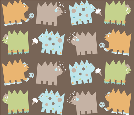 ChickenCow4x4-01 fabric by studio9:05 on Spoonflower - custom fabric