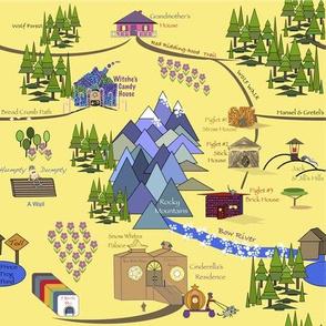 Fairy Tale Map