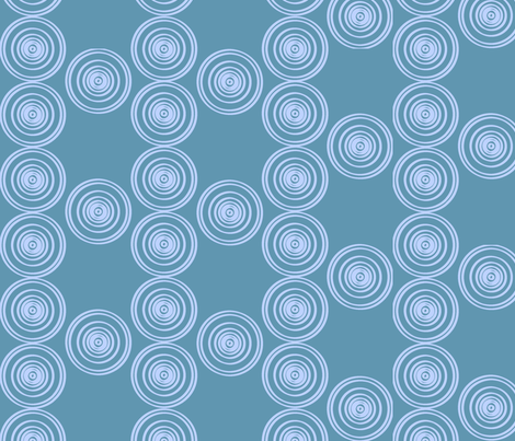 AprilFlowers fabric by Ellarbee on Spoonflower - custom fabric