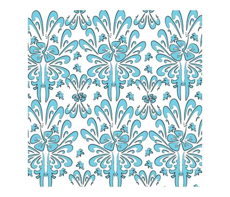 tatoohibiscus-ed-ed-ed fabric by tikitales on Spoonflower - custom fabric