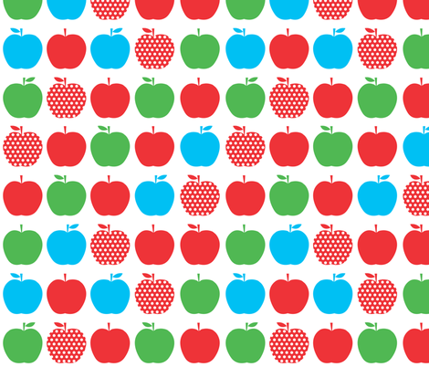Apples fabric by ankepanke on Spoonflower - custom fabric