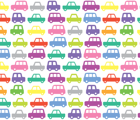 Cars fabric by ankepanke on Spoonflower - custom fabric
