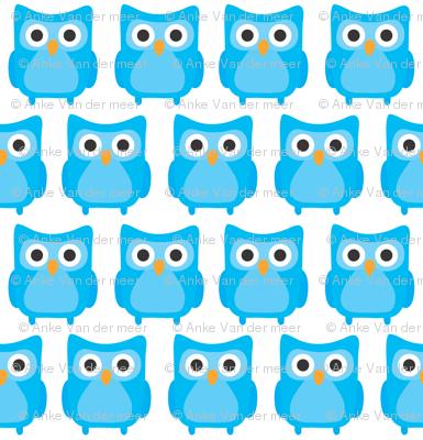 Sweet Blue Owls