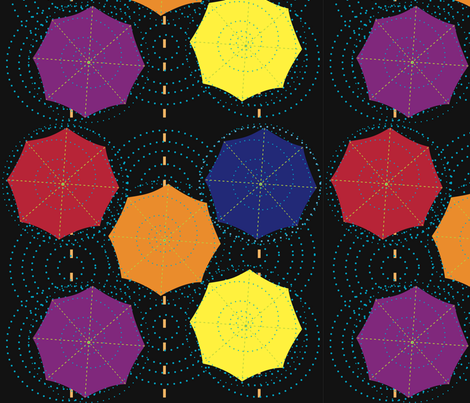 rain fabric by mamo on Spoonflower - custom fabric