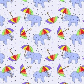 rain elephants