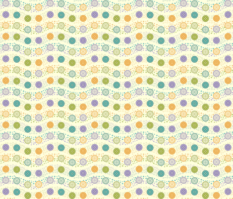 Baby Boy Buttons fabric by andybauer on Spoonflower - custom fabric