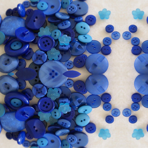Blue buttons - large