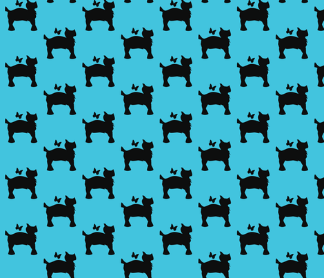 Scottie_Doggy-ed-ch fabric by enyahulk on Spoonflower - custom fabric