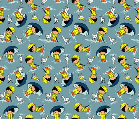Splish-Splash (please zoom for detail) fabric by jmckinniss on Spoonflower - custom fabric