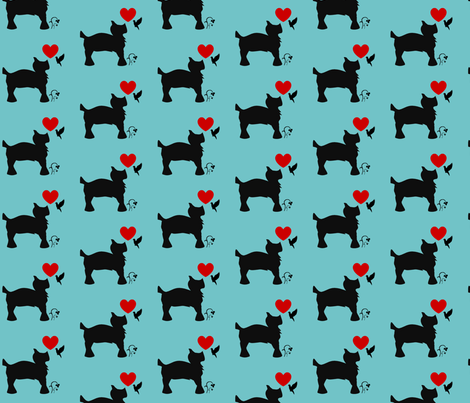 Scottie_Doggy-ed fabric by enyahulk on Spoonflower - custom fabric