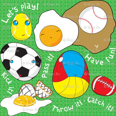 UNBORN CHICKEN PLAY SPORTS!