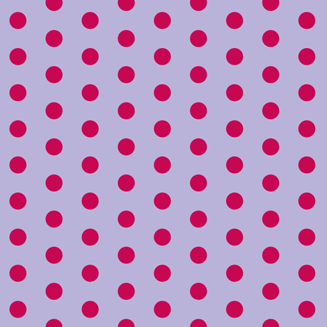 Fuchsia Polkadot fabric by pond_ripple on Spoonflower - custom fabric