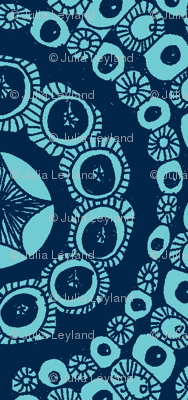 Blue star circles
