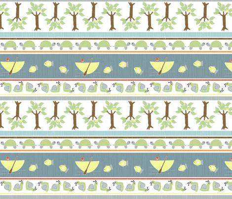 country gathering stripe fabric by christiem on Spoonflower - custom fabric