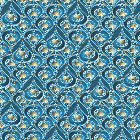©2011 bluepear3 fabric by glimmericks on Spoonflower - custom fabric