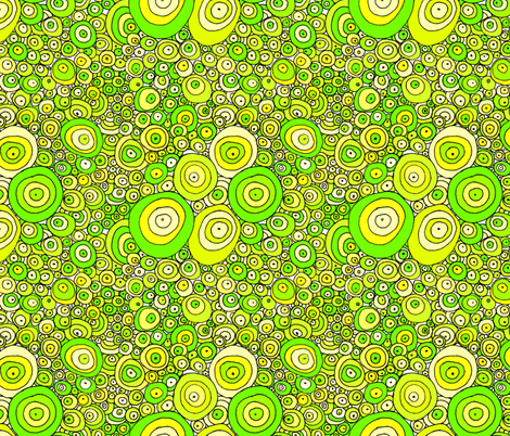 Acid Rain, REVISED VERSION fabric by wiccked on Spoonflower - custom fabric