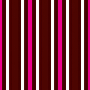 pink and brown stripe