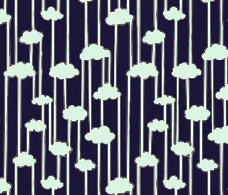 Water Cycle fabric by shirayukin on Spoonflower - custom fabric