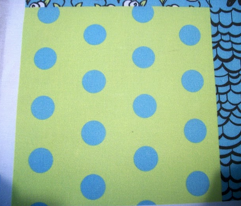 Blue Polkadot