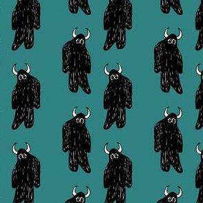 Turquoise Yeti