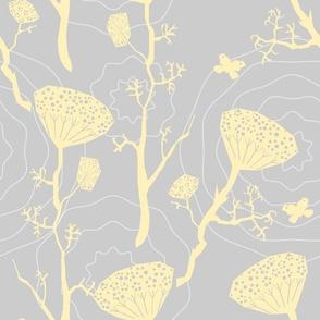 Dill yellow/grey