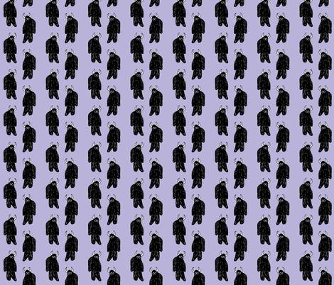 Lilac Yeti fabric by pond_ripple on Spoonflower - custom fabric