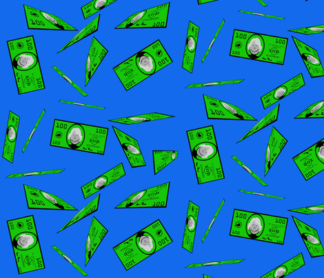Make it Rain!  fabric by don't_quilt_your_day_job on Spoonflower - custom fabric