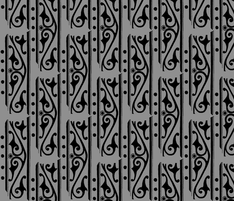Ironworks fabric by nalo_hopkinson on Spoonflower - custom fabric