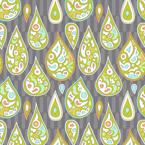 drops upon drops fabric by katrinazerilli on Spoonflower - custom fabric