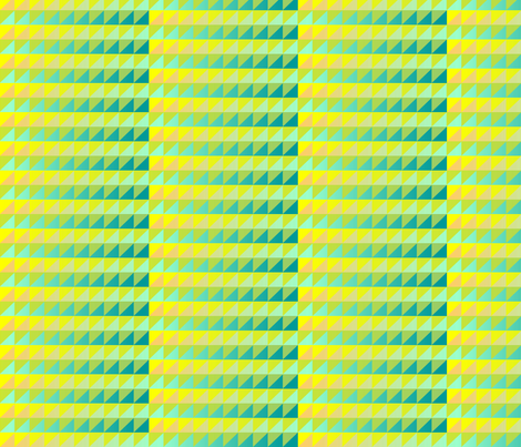©2011 quilt slide yellow green purple teal fabric by glimmericks on Spoonflower - custom fabric