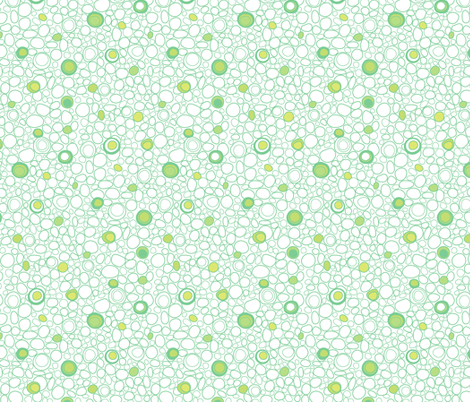 Safari Pebbles White fabric by jillianmorris on Spoonflower - custom fabric