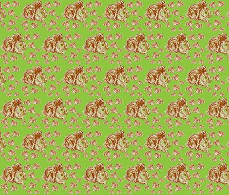 JamJax Funny Bunnies Mini fabric by jamjax on Spoonflower - custom fabric