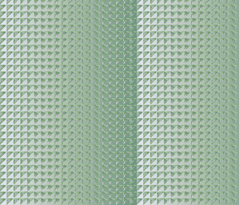 ©2011 quilt hydrangea green fabric by glimmericks on Spoonflower - custom fabric