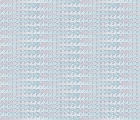 ©2011 quilt slide hydrangea ice fabric by glimmericks on Spoonflower - custom fabric