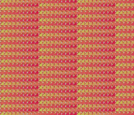 ©2011 quilt slide hydrangea fire fabric by glimmericks on Spoonflower - custom fabric