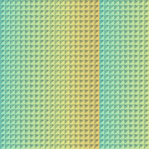 ©2011 quilt hydrangea scale green yellow