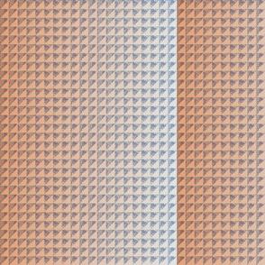 © 2011 quilt hydrangea scale orange cream