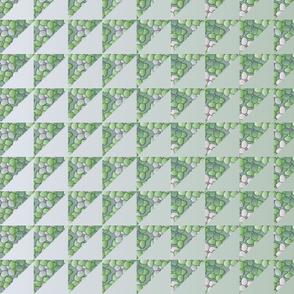 © 2011 quilt big hydrangea green