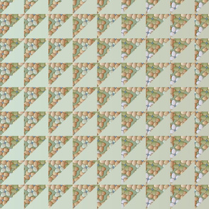© 2011 quilt big hydrangea khaki