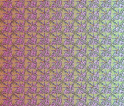© 2011 quilt big gaughin fabric by glimmericks on Spoonflower - custom fabric