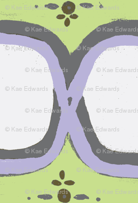 Figure 8 lavender green