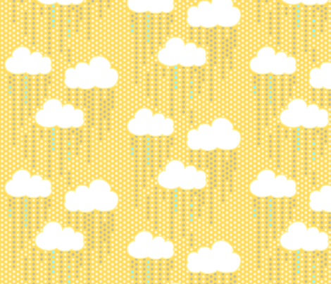Sunny Day Rain fabric by pattysloniger on Spoonflower - custom fabric