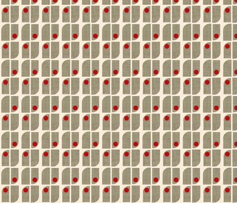 clovers_linen fabric by holli_zollinger on Spoonflower - custom fabric