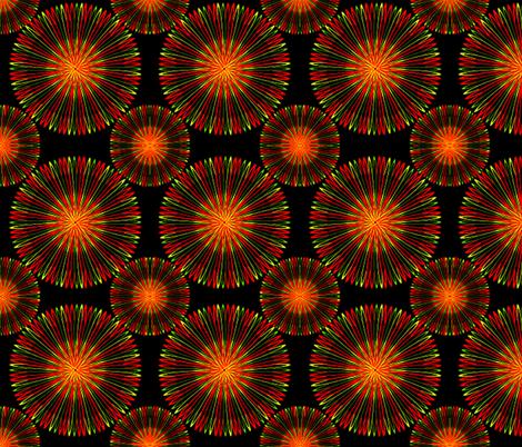 Spicy Coronas fabric by jan4insight on Spoonflower - custom fabric