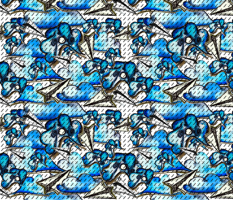 Aisforaeroplane fabric by missjessm on Spoonflower - custom fabric