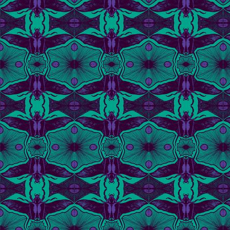 Scarabs in flightB 8 fabric by tallulah11 on Spoonflower - custom fabric